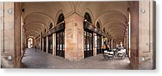 Arcades And The Famous Restaurant 7 Acrylic Print by Panoramic Images