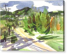 Arcadia Impressions Acrylic Print by Kip DeVore