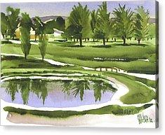 Arcadia Valley Country Club Acrylic Print by Kip DeVore