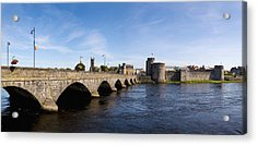 Arch Bridge Across A River, Thomond Acrylic Print by Panoramic Images