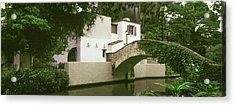 Arch Bridge At San Antonio River Walk Acrylic Print