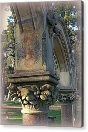 Arch Detail From Cemetery Acrylic Print