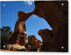 Arch In Devils Garden In Grand Escalante Nm Acrylic Print