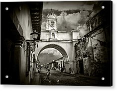 Arch Of Santa Catalina Acrylic Print by Tom Bell