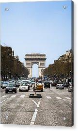 Arch Of Triumph In Paris Acrylic Print