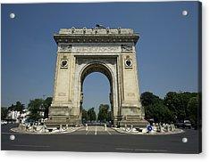 Arch Of Triumph Acrylic Print by Ioan Panaite