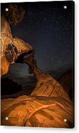 Arch Rock Acrylic Print