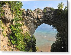 Arch Rock In Mackinac Island State Park Acrylic Print