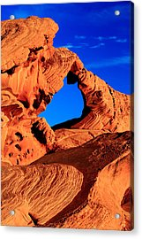 Arch Rock In The Valley Of Fire Acrylic Print by Eric Foltz