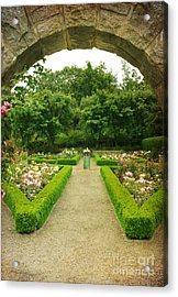 Acrylic Print featuring the photograph Arch To The Rose Garden by Maria Janicki