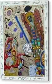 Archangel Jeremiel Acrylic Print