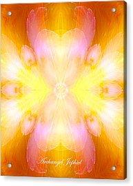 Archangel Jophiel Acrylic Print by Diana Haronis