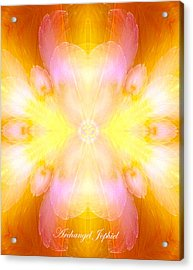 Archangel Jophiel Acrylic Print