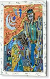 Archangel Uriel Acrylic Print