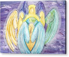 Archangels Acrylic Print