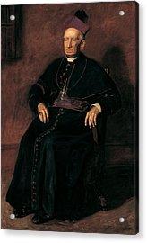 Archbishop William Henry Elder, 1903 Oil On Canvas Acrylic Print