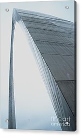 Arched View Acrylic Print by Theresa Willingham