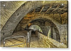 Arched Walkway Acrylic Print by Jim Lepard