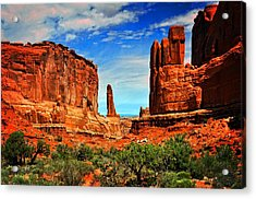 Arches 15 Acrylic Print by Marty Koch