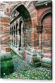 Arches And Cobblestone Acrylic Print