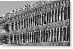Arches And Columns In Piazza San Marco Acrylic Print by Rita Mueller