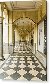 Arches And Squares Acrylic Print