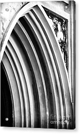 Arches At Huguenot Acrylic Print by John Rizzuto