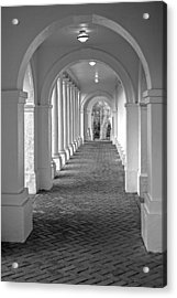 Arches At The Rotunda At University Of Va 2 Acrylic Print