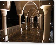 Arches In Abu Dhabi Acrylic Print
