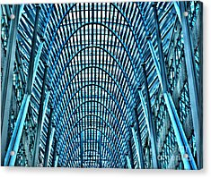Arches In Brookefield Place Acrylic Print by Joe  Ng
