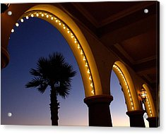 Arches Acrylic Print by Lora Lee Chapman