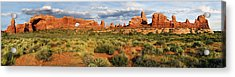 Arches National Park Panorama Acrylic Print