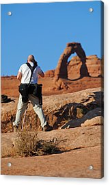 Acrylic Print featuring the photograph Arches Np 27 by Jeff Brunton