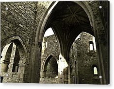 Arches Of Ages - Jerpoint Abbey Acrylic Print