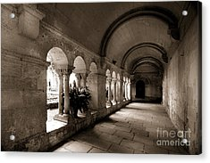 Arches Of An Old Building Acrylic Print