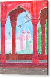 Arches Of India Acrylic Print