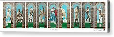 Arches Of Tradition Acrylic Print