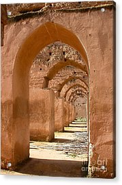 Arches Acrylic Print by Sophie Vigneault