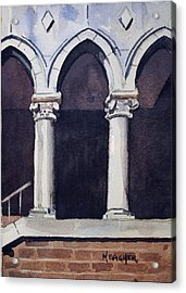 Arches  Acrylic Print by Spencer Meagher