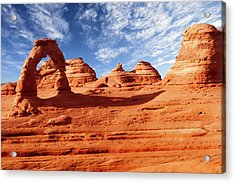 Arches Acrylic Print by Wsfurlan