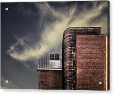 Archi-mix. Acrylic Print by Harry Verschelden