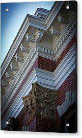 Architechture Morgan County Court House Acrylic Print by Reid Callaway