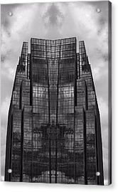 Architect's Dream Black And White Acrylic Print by Dan Sproul