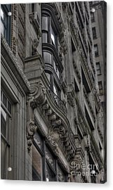 Architectural Detail Acrylic Print by David Bearden