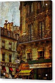 Architectural Detail Librairie Opera Paris Acrylic Print