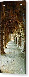 Architectural Detail Of The Famous Park Acrylic Print