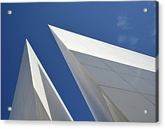 Architectural Details Acrylic Print by Martial Colomb