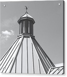 Architectural Gray Acrylic Print by Ann Horn