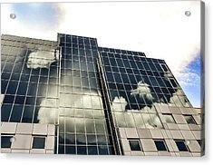 Architectural Image Screen Acrylic Print by Howard Pugh (marais)