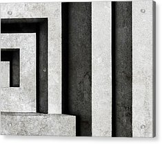 Architectural Signs II Acrylic Print by Luc Stalmans